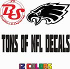 "NFL Football 6"" Vinyl Window Car Truck Decal Sticker Eagles NY ALL 32 Teams noBS on eBay"