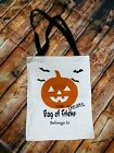 Halloween trick or treat bags with black handle