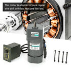 1pc AC 220V 120W Gear Reduction CW/CCW Motor Adjustable Speed +Gearbox Governor