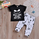 Toddle Baby Boy Disney Jack Short Sleeve T-shirt+Pants Hallo