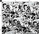 Hound Hound Dog Music Star Elvis Presley Elvis Fabric Printed by Spoonflower BTY