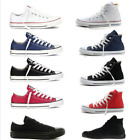 Low High Top ALL STARs Men's Chuck Taylor Ox shoes casual Canvas Sneakers