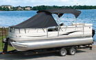 "Pontoon Boat Playpen Sun Shade Cover 22'-24' Boats: 11' Length X 102""W, 9 Colors"