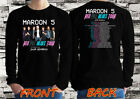 Maroon 5 RED PIL BLUES Tour 2018 special guest Long Sleeve T-shirt all size