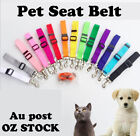 Adjustable Pet Car Vehicle Seat Belt Safety Seatbelt Harness Leash Lead Dog Cat