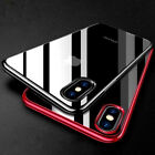 For iPhone XS Max XR XS X Shockproof Hybrid Crystal TPU Clear Bumper Case Cover