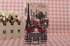 Paris Tower Card Holder Cover Case For Nokia 2.1 / 3.1 / 5.1 / 1 2 3 5 6 7 8 9