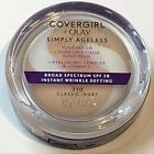 (1) Covergirl + Olay Simply Ageless Foundation, You Choose