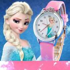 Elza Watch Frozen for Kids Cartoon Children Watch Princess Kids Watches Stickers
