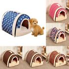 Dog Cat Bed Puppy Cushion House Pet Soft Warm Kennel Washable Mat Blanket US