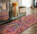 Handmade Modern Contemporary Funky Starbrust Area Rug runner