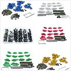 Colorful Motorcycle Sportbike Windscreen Fairing Bolts Kit Fastener Clips Screws $23.5 USD on eBay