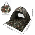 2-3 Person Outdoor Camping Waterproof Automatic Instant Pop Up Tent Camouflage@G