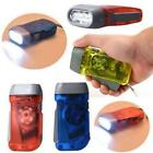 Portable Wind up Hand Pressing Crank Emergency Camping LED Flashlight Torch N20