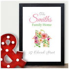 Family Home Gifts Personalised First Home House Warming Gifts Family Print Gifts