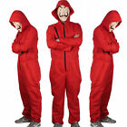 Salvador Dali Money Heist La Casa De Papel Jumpsuit Halloween Costume + Mask