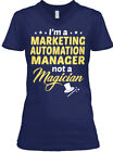 Best Marketing Automations - Marketing Automation Manager Magician Women's V-Neck Tee Review
