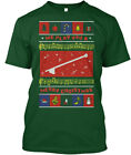 Drum Major Mace Ugly Xmas Sweater - We Play You A Hanes Tagless Tee T-Shirt