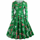 Dress Pinup Party 50s Women Christmas tree Fashion Housewife Rockabilly Cocktail
