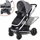 2-in-1 Baby Toddler Stroller Pram Pushchair Car Seat Carrycot Buggy Aluminium UK