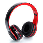 Active Noise Cancelling Wireless Bluetooth Foldable stereo Headphones Headset US