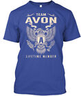 Team Avon Lifetime Member - A Hanes Tagless Tee T-Shirt