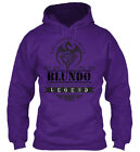 Legend Is Alive Blundo An Endless - The Gildan Hoodie Sweatshirt