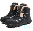 Men's Snow Warm Winter Climbing Hiking Ankle Boots Thicken Outdoor Plus Size