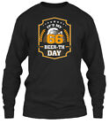 66th Birthday Gift Beer Its My 66 Gildan Long Sleeve Tee T-Shirt