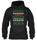Kearney Family Ugly Sweater S - Christmas Gildan Hoodie Sweatshirt