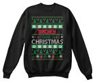 Mackey Family Ugly Sweater S - Christmas Hanes Unisex Crewneck Sweatshirt