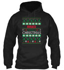 Mayes Family Ugly Sweater S - Christmas Gildan Hoodie Sweatshirt