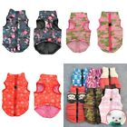 US Pet Dog Soft Padded Vest Harness Puppy Warm Winter Clothes Coat Apparel