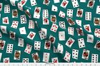 Playing Cards Deck Of Cards Card Game Poker Fabric Printed by Spoonflower BTY