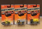 MATCHBOX CONSTRUCTION MIXER DIRT HAULER ROAD ROLLER - BRAND NEW - CHOOSE ONE