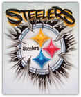 Pittsburgh Steelers NFL Art Logo Car Bumper Sticker Decal - 3'' or 5'' on eBay