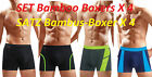New Set 4ER Piece Mens Boxer Bamboo Bamboo Boxer Shorts Underpants Underwear
