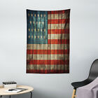 American Tapestry Old National Patriotic Print Wall Hanging Decor
