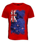 NEW ZEALAND GRUNGE FLAG MENS T-SHIRT TEE TOP AOTEAROA FOOTBALL NZ GIFT SHIRT