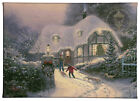 Thomas Kinkade Holiday Collection II 10x14 Gallery Wrapped Canvas (Choice of 4)