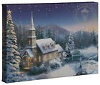 Thomas Kinkade Holiday Collection (2) 10x14 Gallery Wrapped Canvas (Choice of 4) <br/> Save ------ on eBay Deals