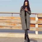 Winter Womens Knitted Long Trench Coat Cardigans