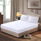 Mattress Protector Waterproof  Bed Soft Hypoallergenic Fitted Pad Cover 5 Size image