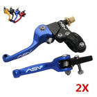 Universal 2X High Quality 22mm Alu ASV F3 Series Clutch Brake Folding Lever