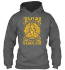 New Chapter Of Life - You Can T Start The Your If Keep Gildan Hoodie Sweatshirt