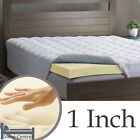 Memory Foam Mattress Topper in All Sizes & Depths Hypoallergenic Orthopaedic