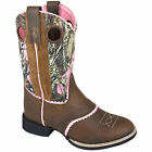 Smoky Mountain Smoky Mtn Kids Ruby Belle Rnd Pink Camo Boots