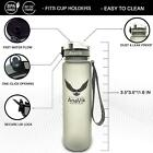 AnaVik 32oz Sports Water Bottle  BPA Free Non-toxic Gym Workout Fitness