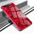 For OPPO F9 A3S A5 AX5 R17 Pro Find X Ultra Slim Tempered Glass Back Case Cover