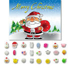Внешний вид - 24PC Christmas Toys Mini Cute Squeeze Soft Stress Relief Funny DIY Decor Toy Lot